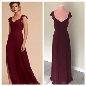 Anthropologie BHLDN Diana Dress - Wine, NWOT